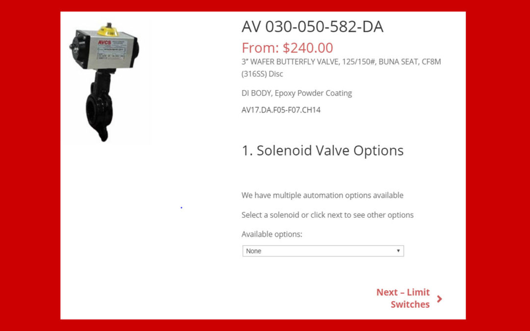 Automated Valves easily Customized on AVCSCO.COM
