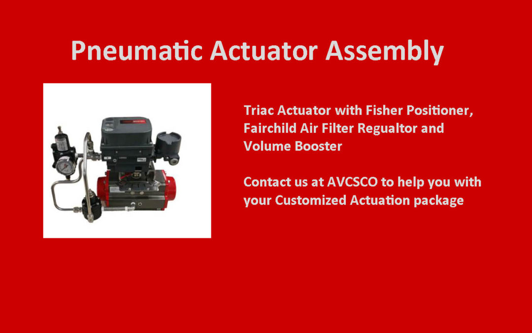 Customized Actuation Packages available at AVCSCO