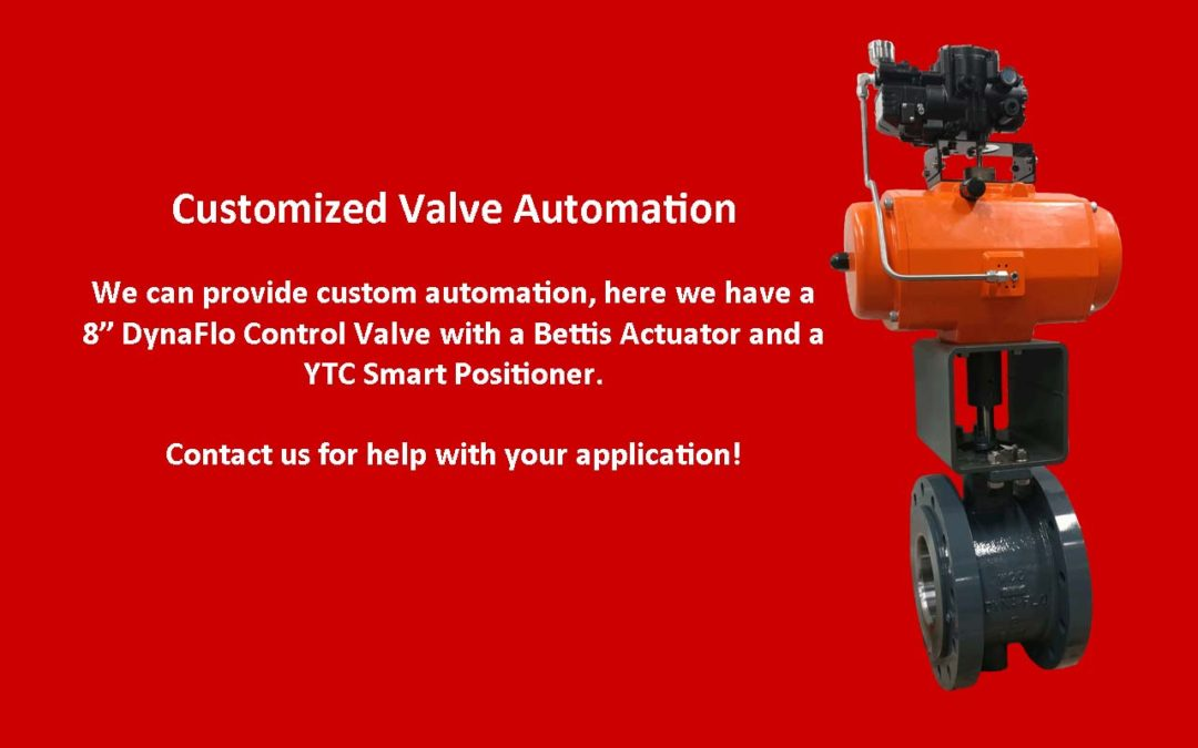 Customized Automation Valve Packages