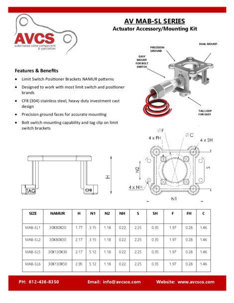 AVCS – MAB-SL SERIES REV 2017-8-2